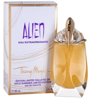 Mugler Alien Eau Extraordinaire Gold Shimmer Limited Edition eau de toilette nőknek 60 ml