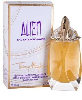 Mugler Alien Eau Extraordinaire Gold Shimmer Limited Edition woda toaletowa dla kobiet 60 ml
