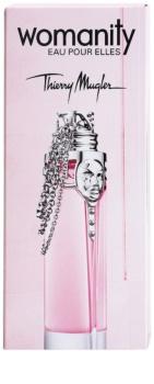 Mugler Womanity Eau pour Elles eau de toilette pour femme 80 ml rechargeable