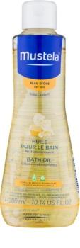Mustela Bébé Dry Skin olej do kúpeľa