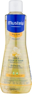 Mustela Bébé Dry Skin олійка для ванни