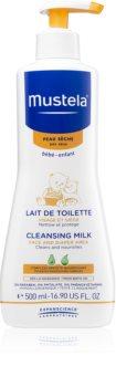 Mustela Bébé Toillete latte detergente per bambini