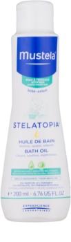 Mustela Bébé Stelatopia ulei de baie calmant pentru nou-nascuti si copii