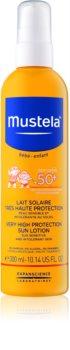 Mustela Solaires zaščitni losjon za otroke SPF 50+