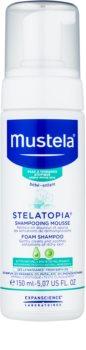 Mustela Bébé Stelatopia sampon spuma pentru nou-nascuti si copii