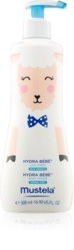Mustela Bébé Hydra Bébé зволожувальне молочко для тіла для немовлят лімітоване видання