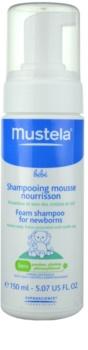 Mustela Bébé Bain shampoo mousse per bambini