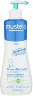 Mustela Bébé Bain gel de limpeza capilar e corporal para crianças