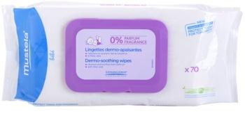 Mustela Bébé Change toalhitas de limpeza sem perfume