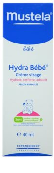 Mustela Bébé Hydra Bébé hydratační krém na obličej pro děti od narození