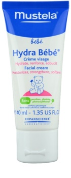 Mustela Bébé Hydra Bébé feuchtigkeitsspendende Gesichtscreme für Kinder ab der Geburt