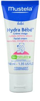 Mustela Bébé Hydra Bébé hydratačný krém na tvár pre deti od narodenia