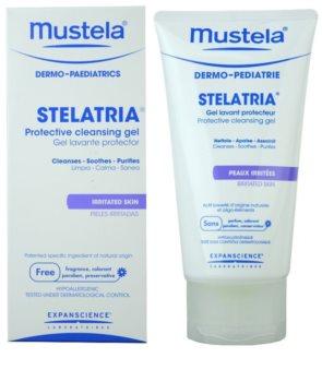 Mustela Dermo-Pédiatrie Stelatria gel limpiador protector para pieles irritadas