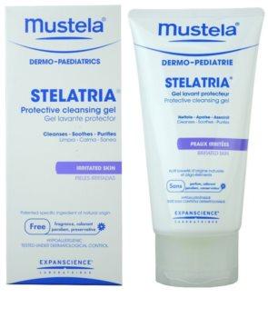 Mustela Dermo-Pédiatrie Stelatria ochranný čisticí gel pro podrážděnou pokožku