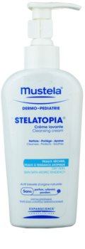 Mustela Dermo-Pédiatrie Stelatopia crema limpiadora para pieles muy secas, sensibles y atópicas