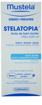 Mustela Dermo-Pédiatrie Stelatopia Bath Oil For Very Dry Sensitive And Atopic Skin
