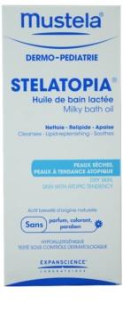 Mustela Dermo-Pédiatrie Stelatopia koupelový olej pro velmi suchou citlivou a atopickou pokožku