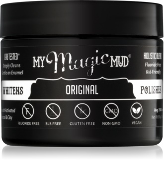 My Magic Mud Activated Charcoal pudră cu cărbune activ, pentru albirea dinților