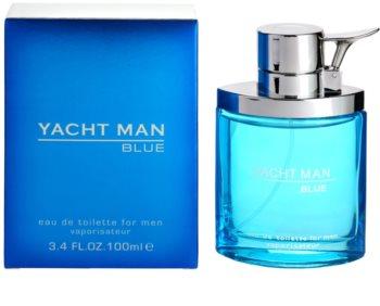 Myrurgia Yacht Man Blue eau de toilette pour homme 100 ml