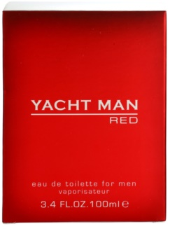 Myrurgia Yacht Man Red eau de toilette per uomo 100 ml