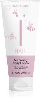 Naif Baby & Kids zjemňujúce telové mlieko pre deti