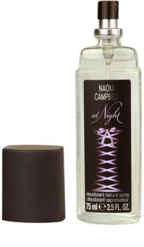 Naomi Campbell At Night Deo mit Zerstäuber für Damen 75 ml