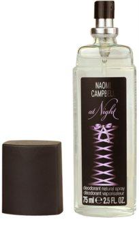 Naomi Campbell At Night deodorant s rozprašovačem pro ženy 75 ml