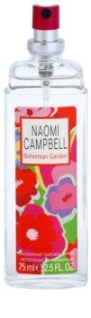Naomi Campbell Bohemian Garden Deo mit Zerstäuber für Damen 75 ml