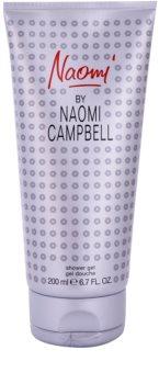 Naomi Campbell Naomi gel douche pour femme 200 ml