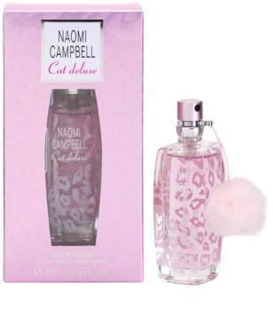 Naomi Campbell Cat deluxe Eau de Toilette para mulheres 15 ml