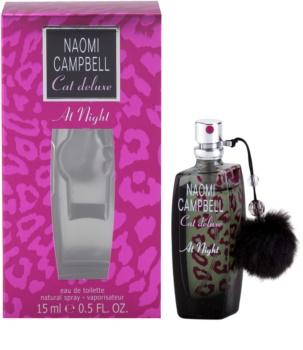 Naomi Campbell Cat deluxe At Night eau de toilette per donna 15 ml