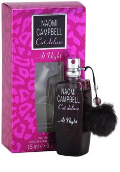 Naomi Campbell Cat deluxe At Night Eau de Toilette voor Vrouwen  15 ml