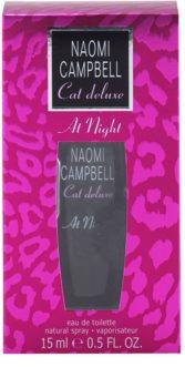 Naomi Campbell Cat deluxe At Night Eau de Toillete για γυναίκες 15 μλ