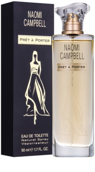 Naomi Campbell Prét a Porter eau de toilette pour femme 50 ml