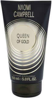 Naomi Campbell Queen of Gold gel douche pour femme 150 ml