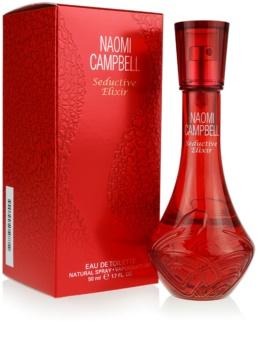 Naomi Campbell Seductive Elixir Eau de Toilette für Damen 50 ml