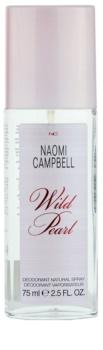 Naomi Campbell Wild Pearl deodorante con diffusore per donna 75 ml
