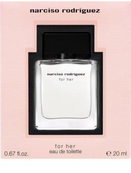 Narciso Rodriguez For Her eau de toilette pour femme 20 ml