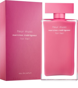 Narciso Rodriguez For Her Fleur Mucs eau de parfum pentru femei 100 ml