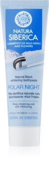Natura Siberica Polar Night dentifricio sbiancante al carbone attivo