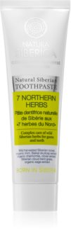 Natura Siberica Natural Siberian 7 Northern Herbs Toothpaste To Treat Bleeding Gums