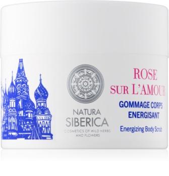 Natura Siberica Mon Amour енергетичний пілінг для тіла