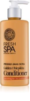 Natura Siberica Fresh Spa Golden Oblepikha кондиціонер для сухого та пошкодженого волосся