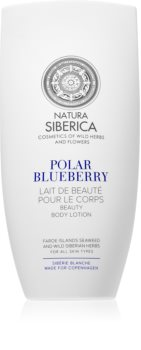 Natura Siberica Sibérie Blanche Polar Blueberry Nourishing Body Lotion