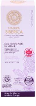 Natura Siberica Active Organics festigende Maske für die Nacht