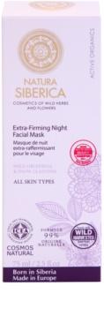 Natura Siberica Active Organics zpevňující maska na noc