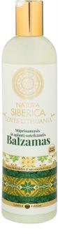 Natura Siberica Loves Lithuania bálsamo fortificante para cabelo