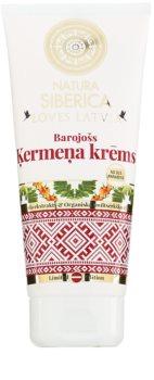Natura Siberica Loves Latvia hranilna krema za telo
