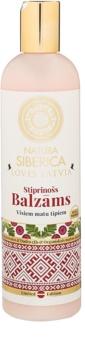 Natura Siberica Loves Latvia bálsamo fortificante para cabelo