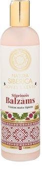 Natura Siberica Loves Latvia krepilni balzam za lase